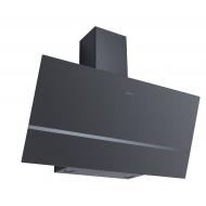 Dominox DPJ 915 V BK Dekoratif Siyah  Eğik Davlumbaz