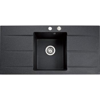 Marmorin Bario 995 1K2O Tezgah Üstü Siyah Granit Evye