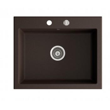 Marmorin Debra 620 1K  Tezgah Üstü Kahverengi Granit Evye