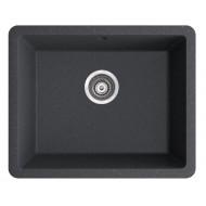 Marmorin Fado 560 1K Tezgah Altı Granit Siyah Evye