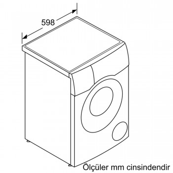 Siemens iQ500 Kurutmalı Çamaşır Makinası Solo