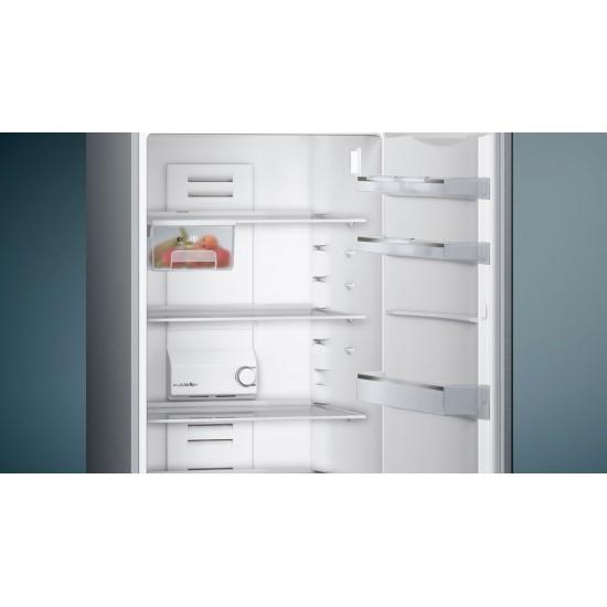 Siemens İQ100 Alttan Donduruculu Buzdolabı  Kolay temizlenebilir Inox