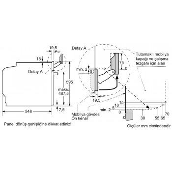 Siemens iQ700 Buhar ve Mikrodalga Fonksiyonlu Ankastre Fırın paslanmaz çelik