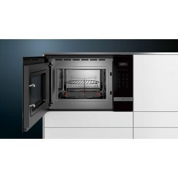 Siemens iQ500 Ankastre Mikrodalga paslanmaz çelik