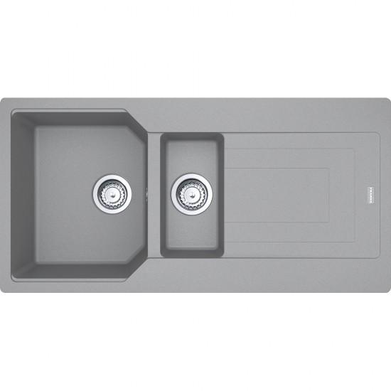 Franke Urban UBG 651-100 Fragranite Stone Grey Tezgaha Sıfır / Üstü Evye