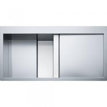 Franke Crystal Line CLV 214 Paslanmaz Çelik - Beyaz Cam
