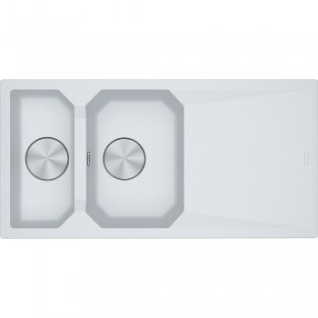 Franke FX FXG 661 Granit Bianco 1,5 Gözlü Evye