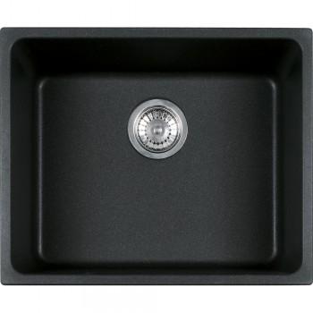 Franke Kubus KBG 110-50 Granit Nero Tezgah Altı Evye